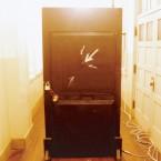 in the black door / 黒い扉の中で